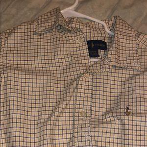 Polo Long Sleeve Button Up